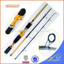 TVR010-6 Voyage Rod Chine pas cher pêche attaquer en 3 sections en fibre de carbone canne à pêche