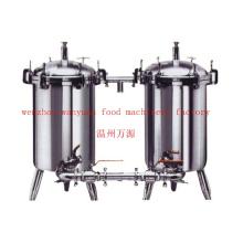 Food Grade Edelstahl Sanitär Dual Duplex Filter