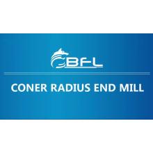 Концевые фрезы радиуса угла карбида BFL CNC, филировальная фреза радиуса твердого угла карбида