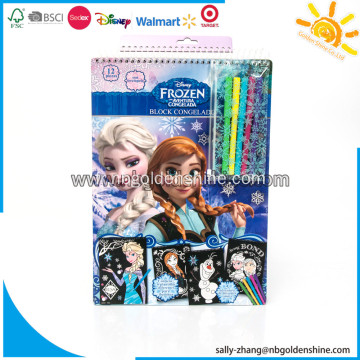 Frozen Velvet Coloring Book