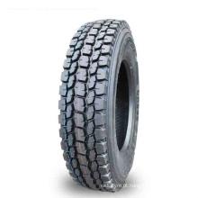 Pneus de reboque de caminhão basculante a quente de baixo preço 22 Perfil baixo 11R22.5 para pneu de caminhão de venda 295 / 75R22.5