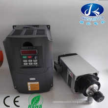 3kw Air-Cooled 220V Air Cooled CNC Router Square Spindle Motor
