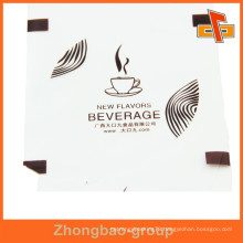 Disposable Food Grade Coffee / Yogurt Cup Plastic Sealed Lid