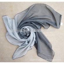 Fashion ladies square voile tie dye scarf