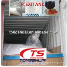 tanque flexible/flexitank para transporte de líquidos