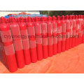 Seamless Steel Fire Fighting Carbon Dioxide Gas Cylinder with Different Capacities