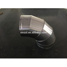 Aço inoxidável chifrado cotovelo (encaixes de duto espiral)