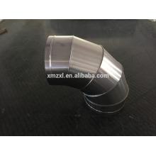 Нержавеющая сталь забодал локоть (фитинги воздуховодов спираль)