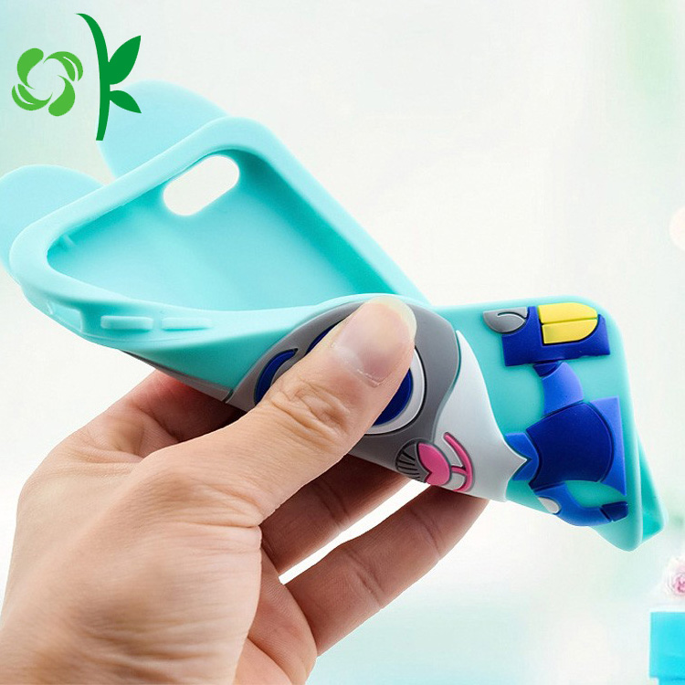 3d silicone phone case