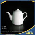 Eurohome hotel innovador producto de moda cafetera de cerámica blanca