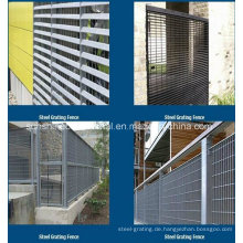 Hochwertigem Stahl Gitter Zaun