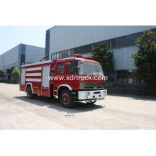 Dongfeng 153 8ton Water Πυροσβεστικό φορτηγό με μπροστινό ψεκαστήρα