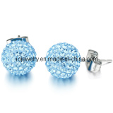 Blue Diamond Earring Shamballa