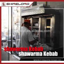 Shinelong usine bonne qualité Kebab Grill Machine / Kebab faisant la machine