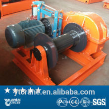 high quality Slow speed small electric winch 10t