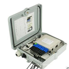 12 Cores FTTH Fiber Distribution Box Splitter Type