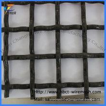 Malha de arame prensado com furo quadrado