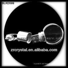 runde Form Kristall USB-Flash-Disk BLKD599