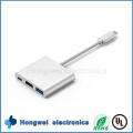 3in1 Multiport USB-C Typ zum Typ C / HDMI / USB 3.0
