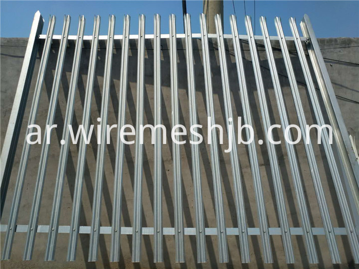 W Section Palisade Fencing