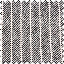 Tecido em lã em preto e branco
