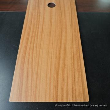 Matériel de construction 4mm Panneau de sablage en aluminium ignifuge en bois
