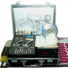 professionelle Tattoo Kits 4 Waffen rotary Tattoo Maschine Kits Tattoo Piercing Kits