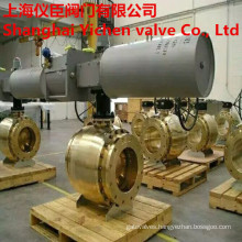 Pneumatic Control Brass Flanged Ball Valve