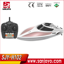 Racing waterproof boat 4CH 150m long control distance SJY-H102 with remote screen PK H100/FT011 boat