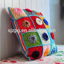 Handmade crochet cushion covers knitted throw pillow cover