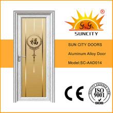 Высокое качество современная алюминиевая входная дверь (СК-AAD014)