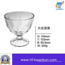 Clear Ice Cream Tazones de cristal Buena Precio Vajilla Kb-Hn0141