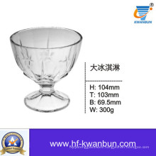 Clear Ice Cream Glass Bowls Good Price Tableware Kb-Hn0141