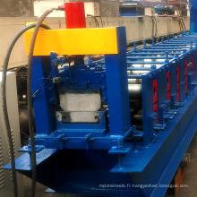 Panneau de marche de plaque froide en acier automatique u rouleau de planches d'échafaudage pont formant la machine