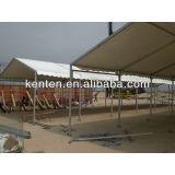 4m PVC tent