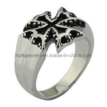 Кольцо из готического кольца из нержавеющей стали