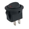 Round Rocker Switch Led