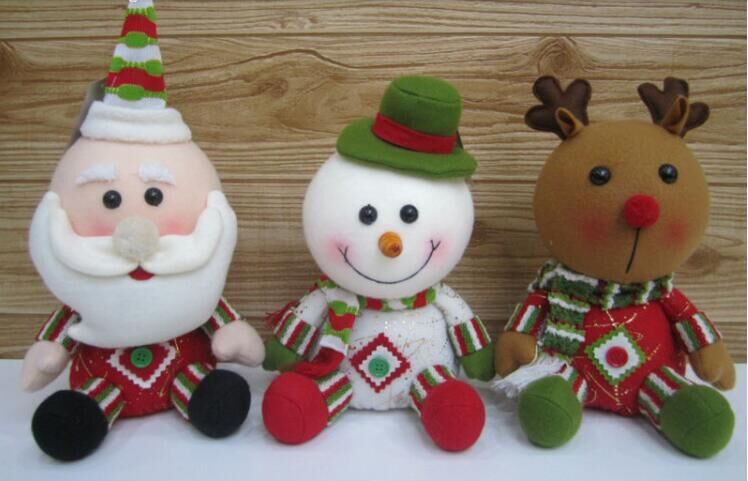 Cartoon version of claus series of plush toys