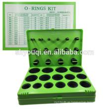 Nuevo sello de goma métrica estándar europeo O ring Kit NBR70 oring searies Caja de reparación sello O-Ring 30 tamaños / set