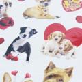 Alta qualidade bonito cão mini etiqueta de papel decoração DIY álbum diário scrapbooking etiqueta etiqueta kawaii papelaria Etiqueta Adesivos