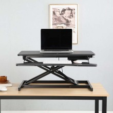 Folding Sit to Stand Office Desk Converter