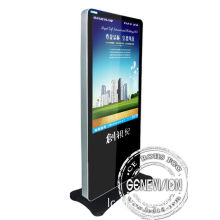 Full Hd Video Kiosk Digital Signage For Shopping Mall , Ir Remote