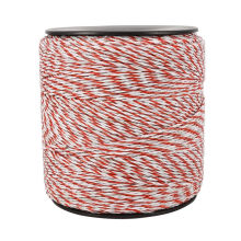 500m in roll  poly wire for horses electric fence