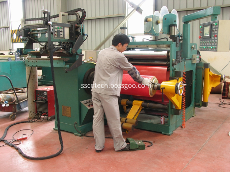 foil winding machine for dry type transformer