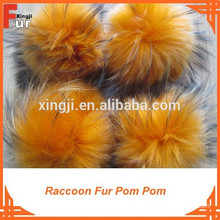 Beanie Hat Accessories Fur Pompon