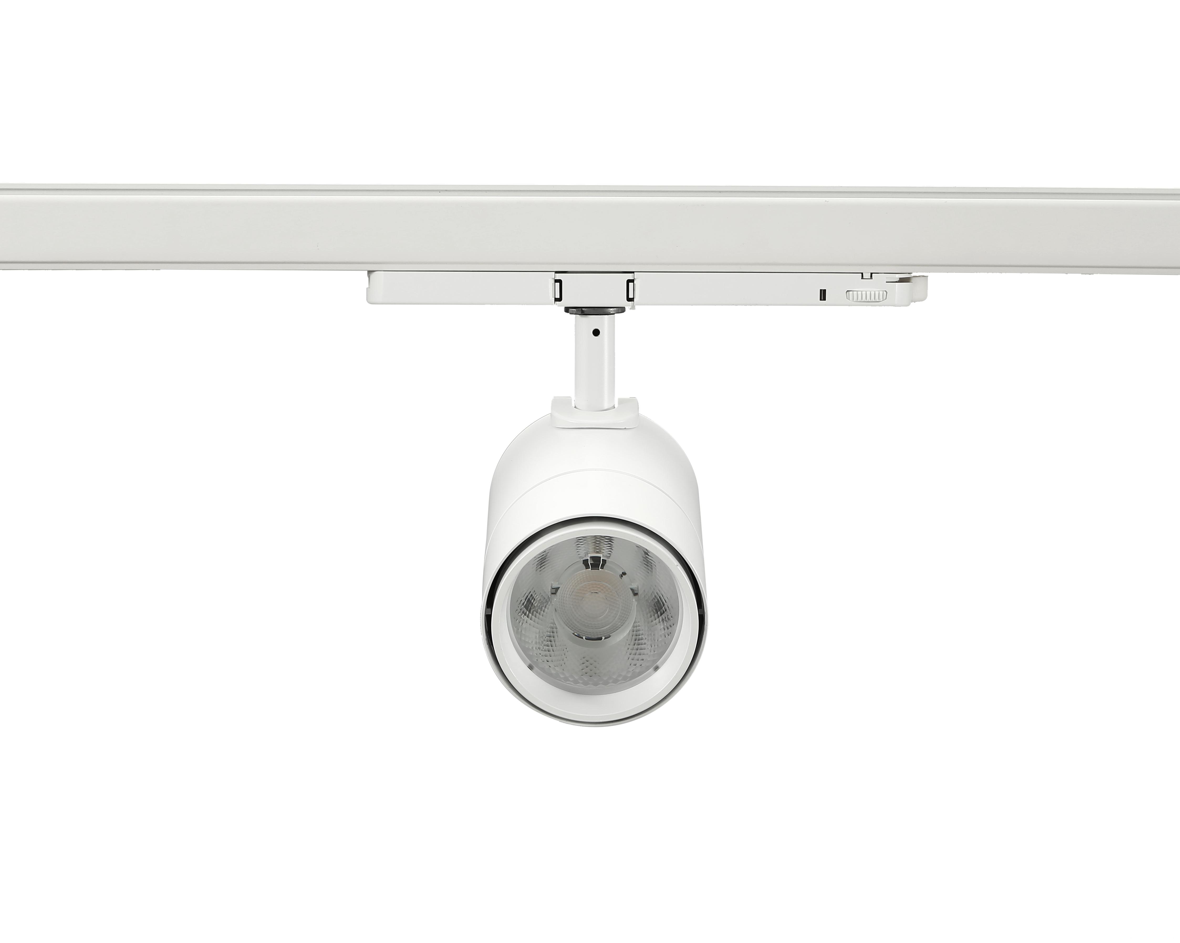 led track light 30W white front