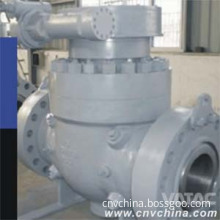Cast Steel&Stainless Steel Top Entry Trunnion Mounted Ball Valve