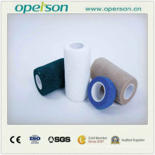 Bandage cohésif de haute qualité pour les vétérinaires et les animaux de compagnie Soins avec le prix compétitif