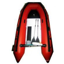 Barco inflável marinho de verde militar de 0.9mm PVC com CE