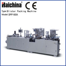High Speed Blister Packing Machinery , Horizontal Flow Pack Machine